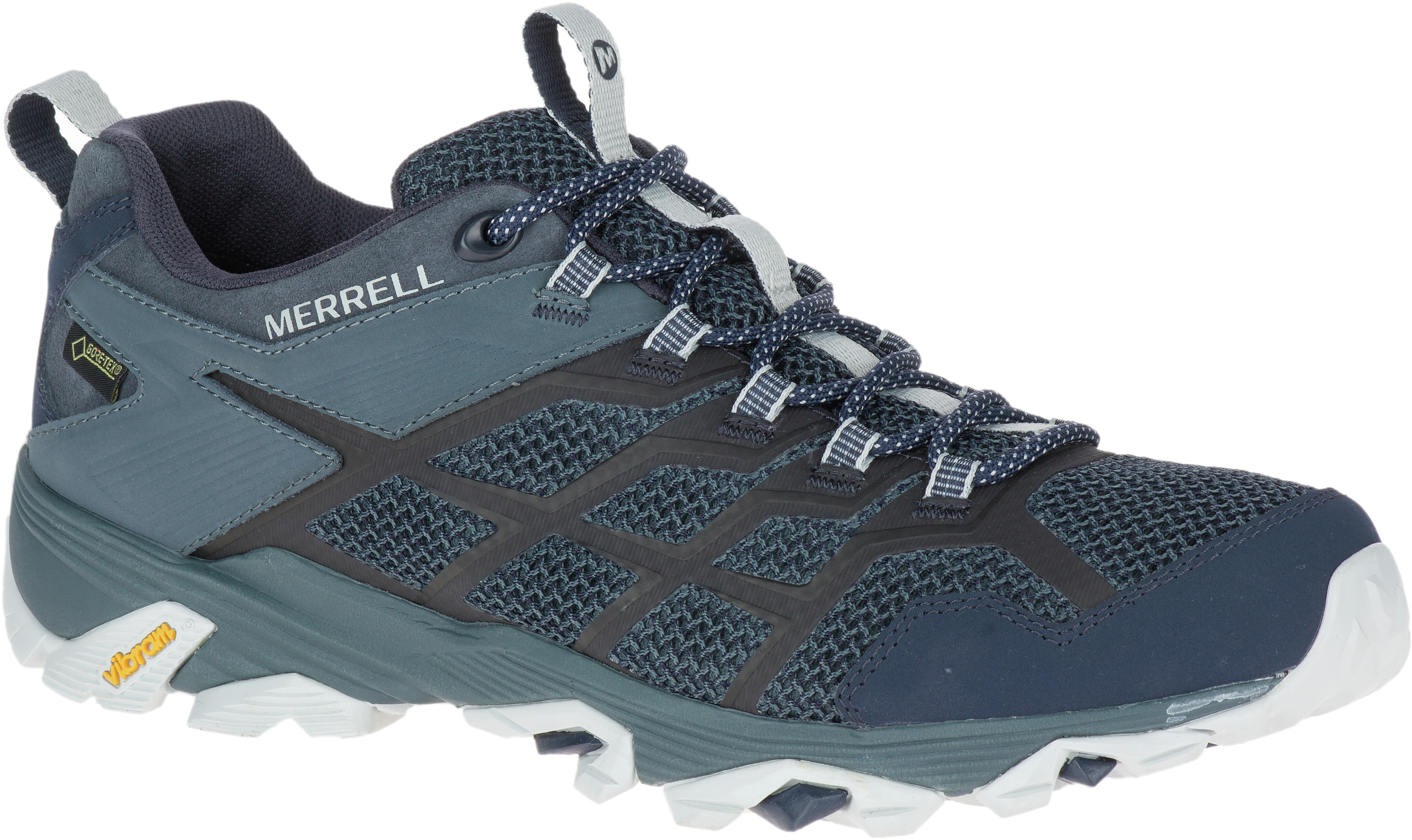 ae2e61384df5 Merrell Moab FST 2 GTX Shoes Men blue at Addnature.co.uk